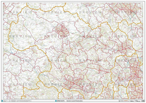 HP Postcode Map PDF or GIF Download