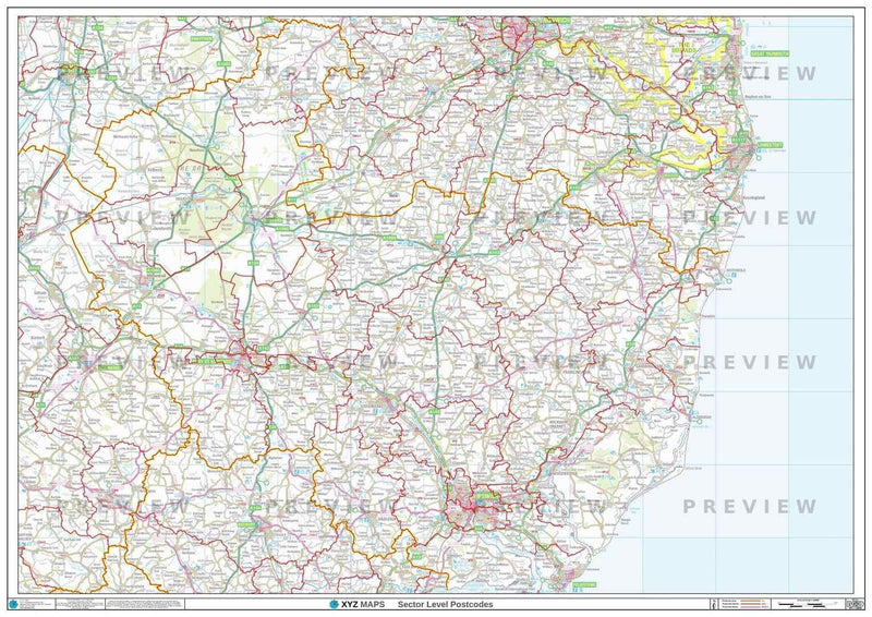 IP Postcode Map PDF or GIF Download