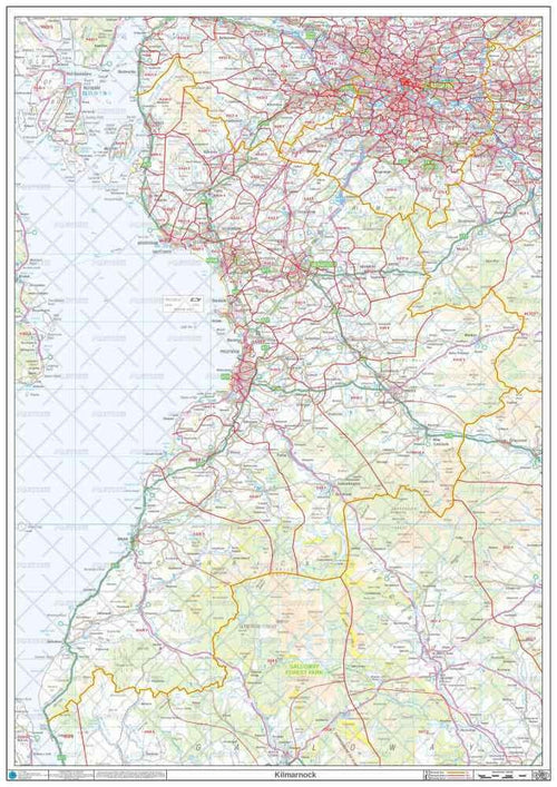 KA Postcode Map PDF or GIF Download