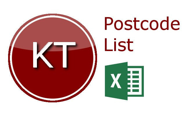 Kingston Upon Thames Postcode Lists