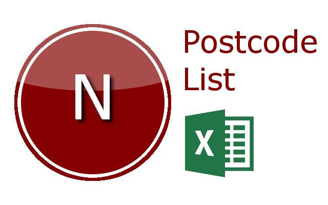 London N Postcode Lists
