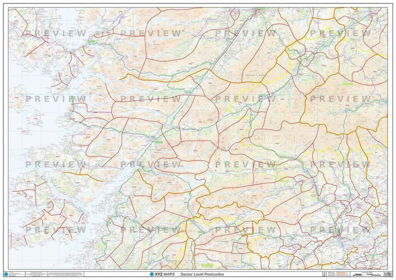 PH Postcode Map PDF or GIF Download