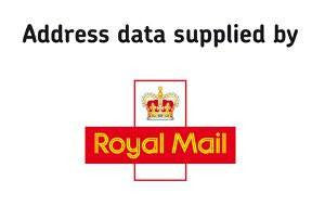 Address Data Supplied by Royal Mail