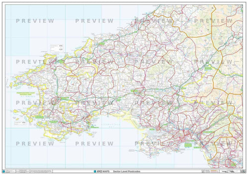 SA Postcode Map PDF or GIF Download