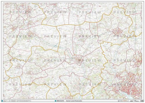 SP Postcode Map PDF or GIF Download