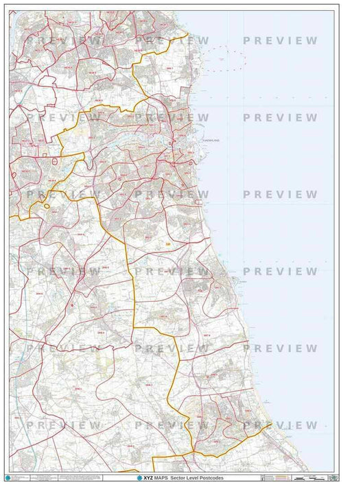 SR Postcode Map PDF or GIF Download
