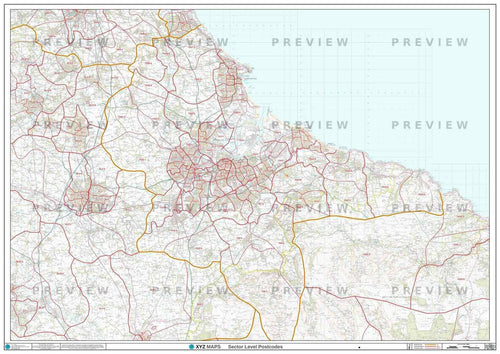 TS Postcode Map PDF or GIF Download