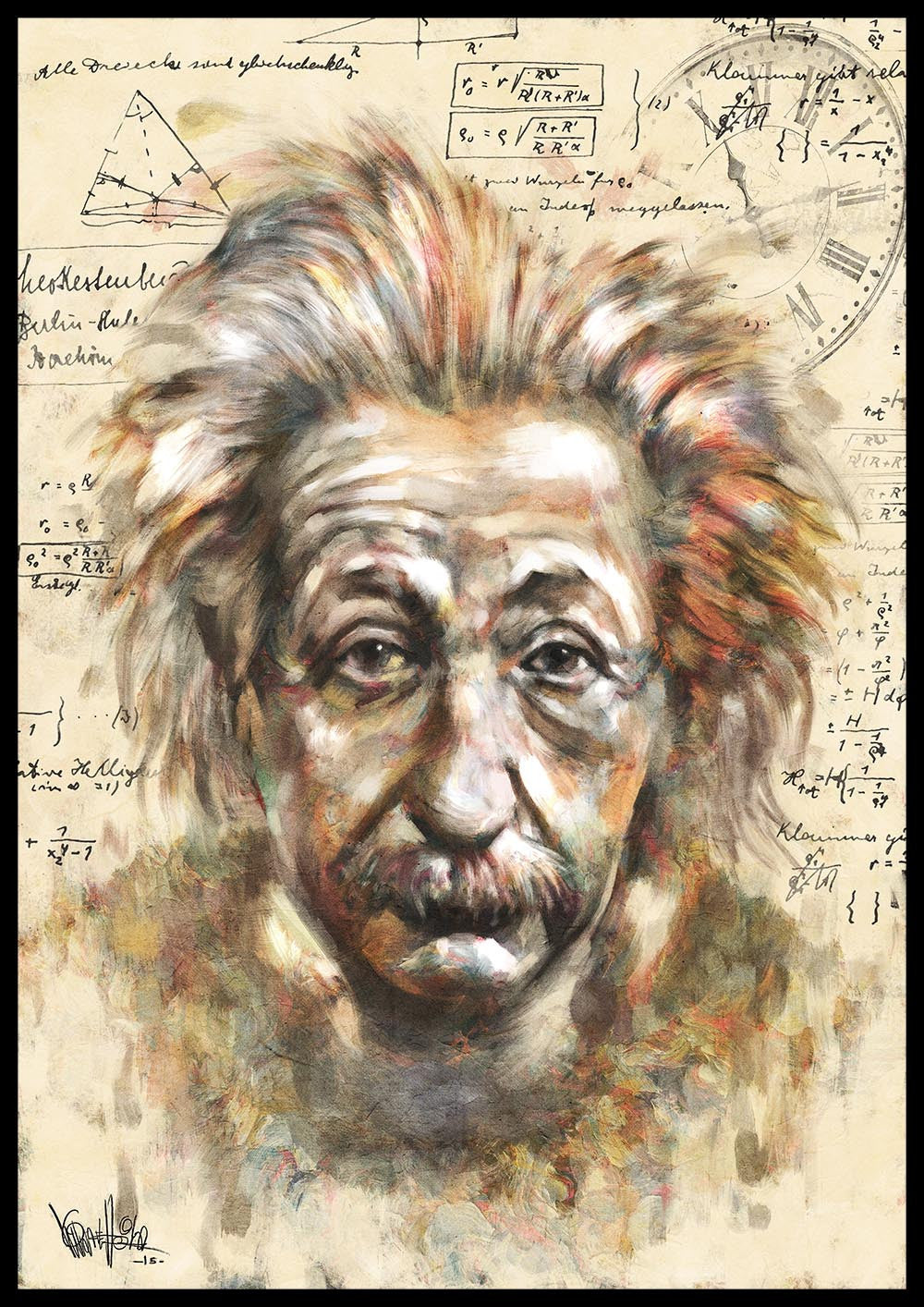 Albert Einstein Tribute #1