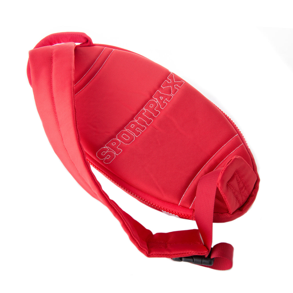 Red Rugby Ball Backpack FREE P&P