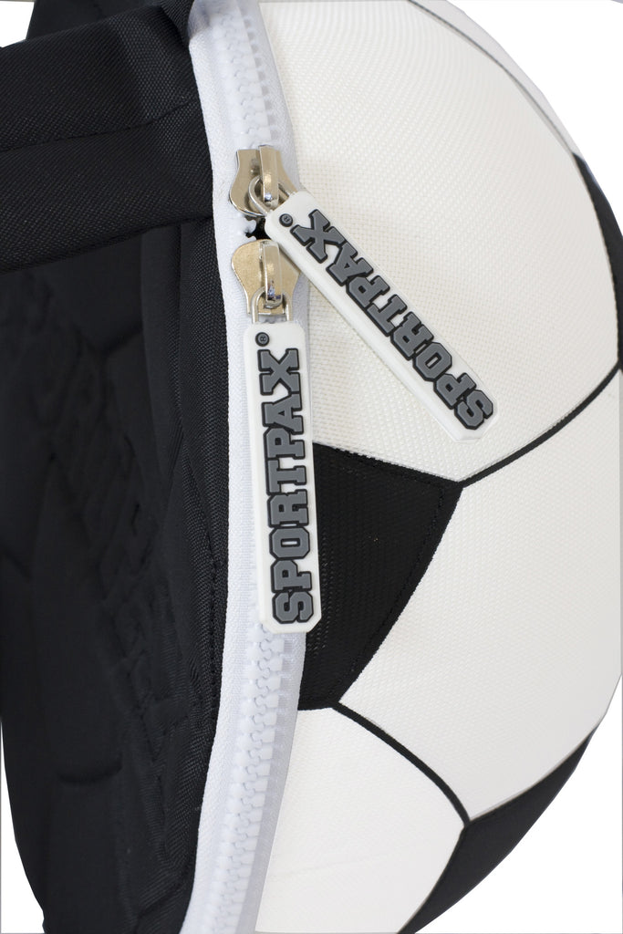 backpack zip detail