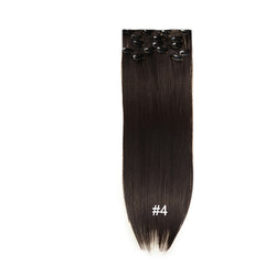 7 Piece Set of Hair Extensions (Full Head Set)
