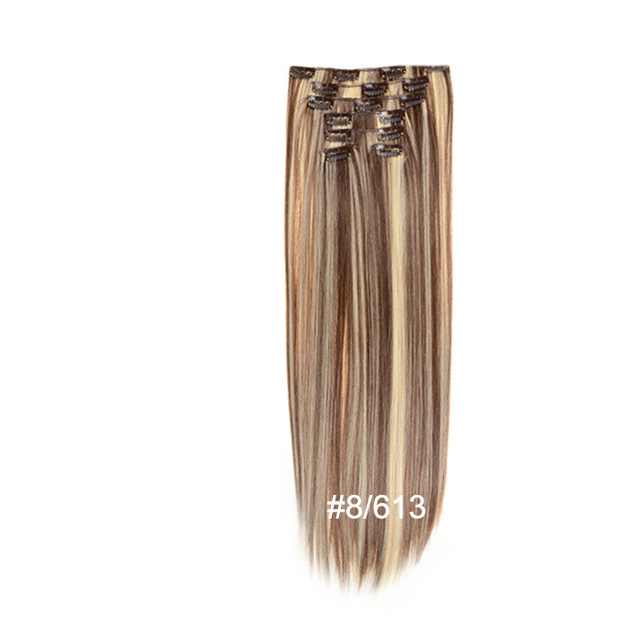 7 Piece Set Of Hair Extensions Full Head Set Shop Now