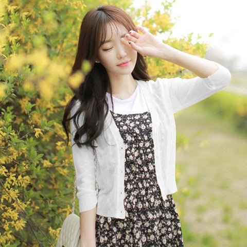 Long Sleeve Jacket White