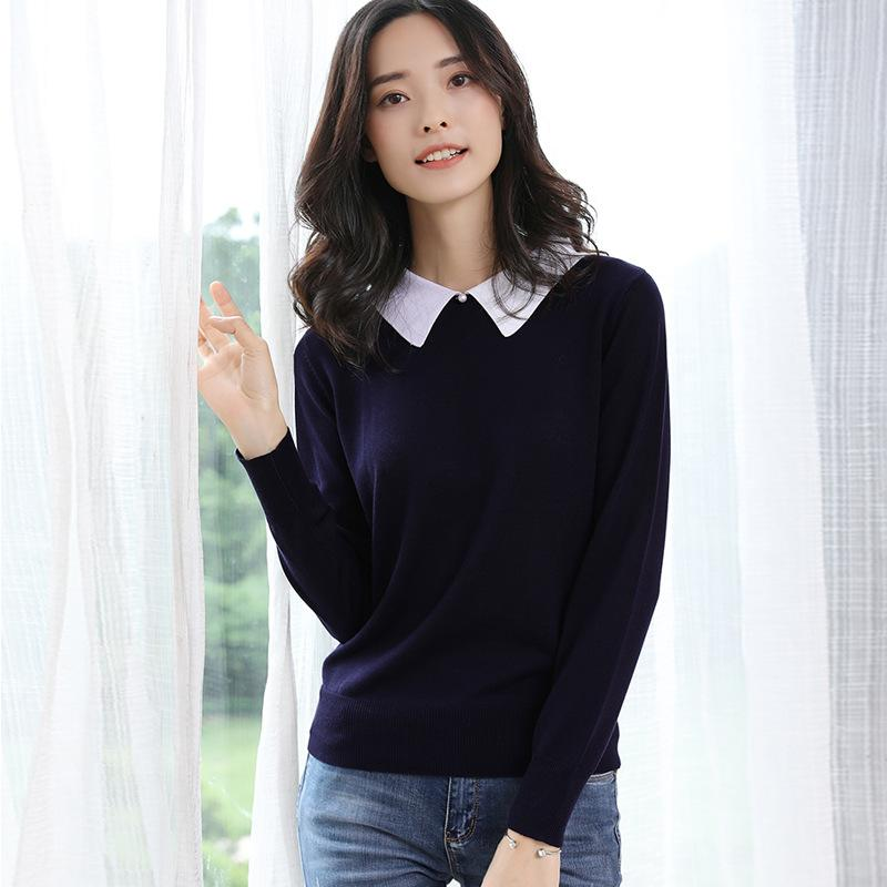 Long Sleeve Sweater Royal Blue