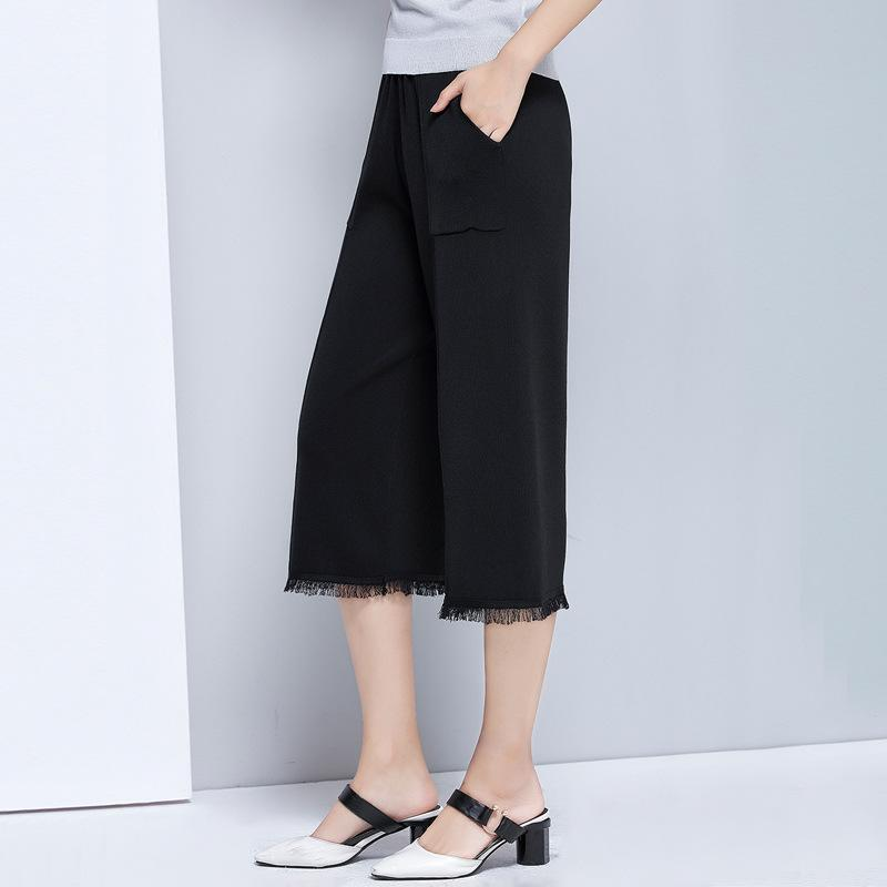 Knitted Pants Black
