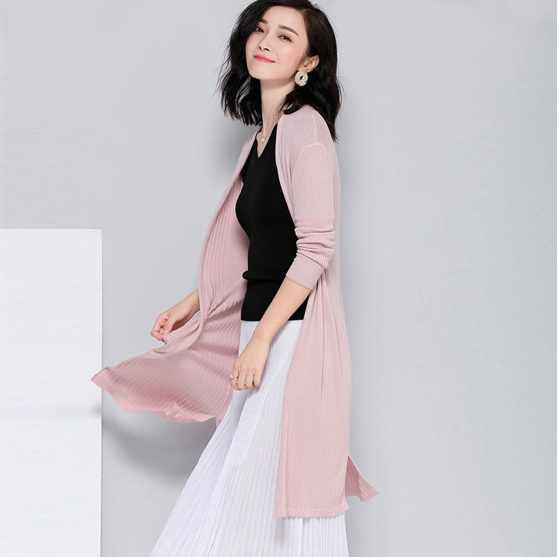 Long Sleeved Cardigan Pink