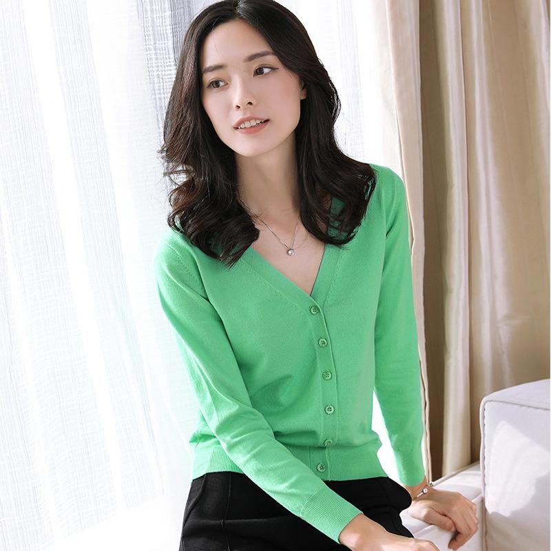 Knitted Jacket Green