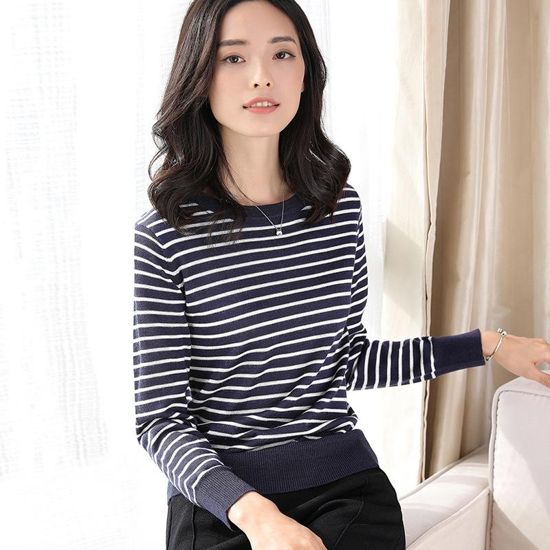 Long Sleeved Knitted Sweater Black