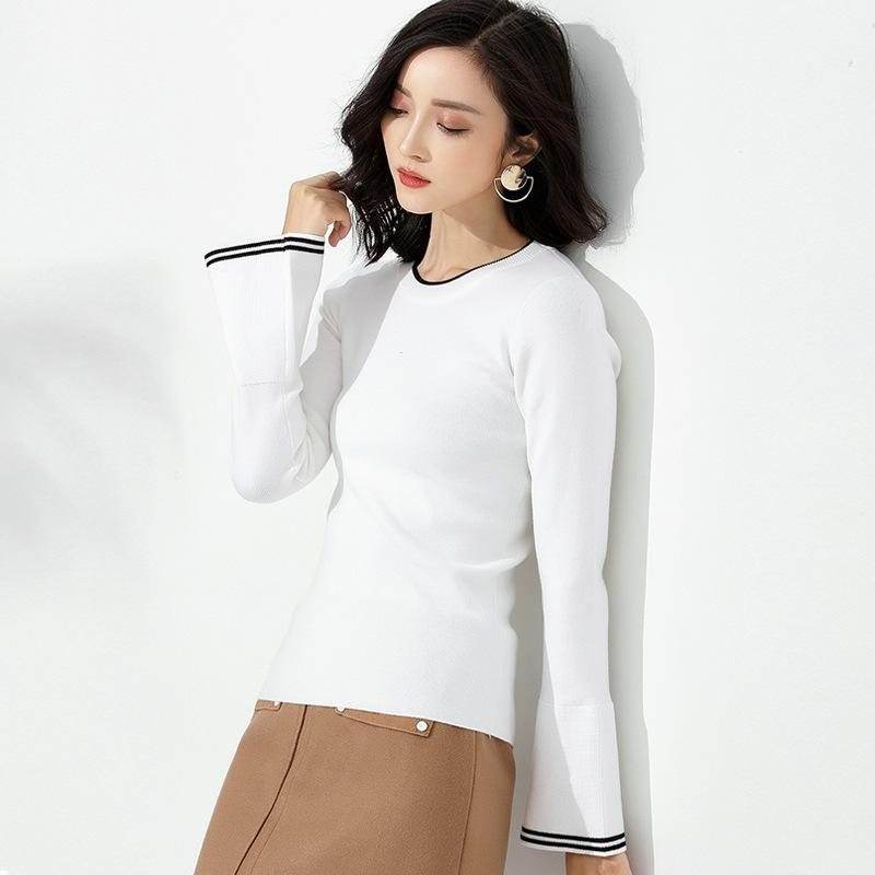 Long Sleeve Sweater White