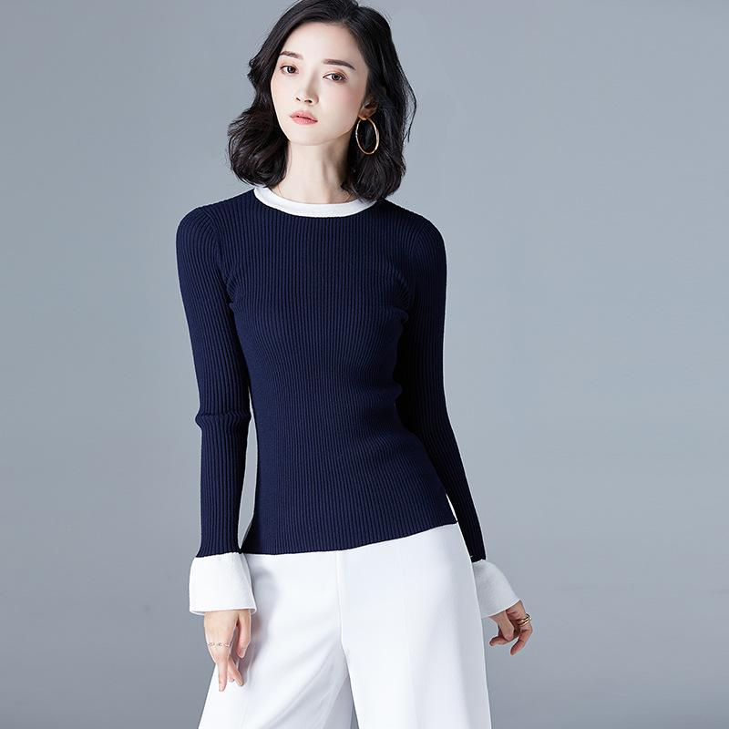 Long Sleeve Sweater Navy