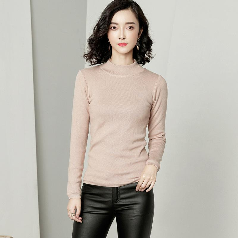Long Sleeved Sweater Apricot