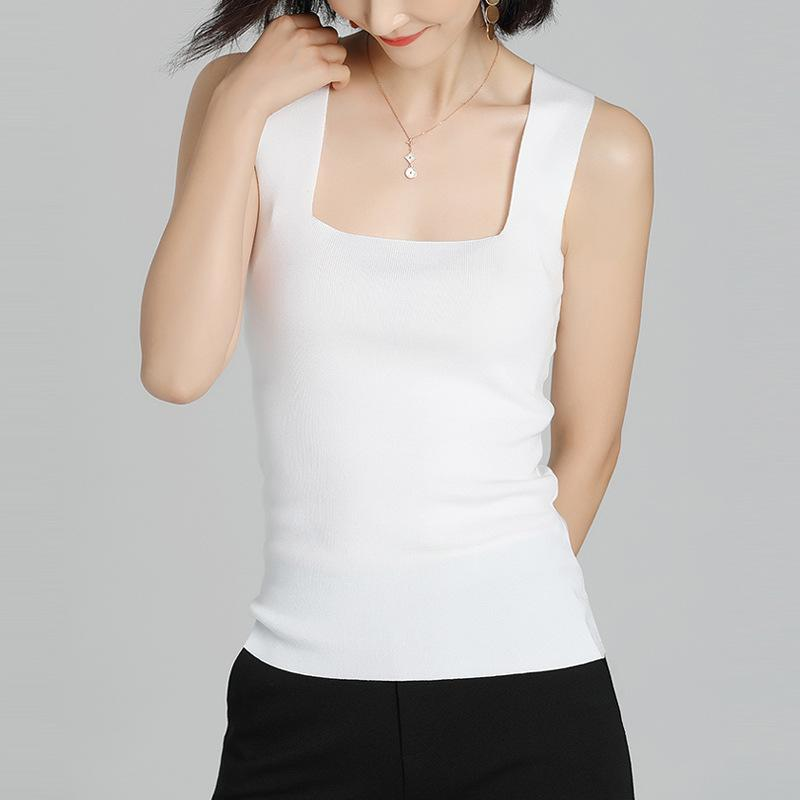 Knitted Camisole White