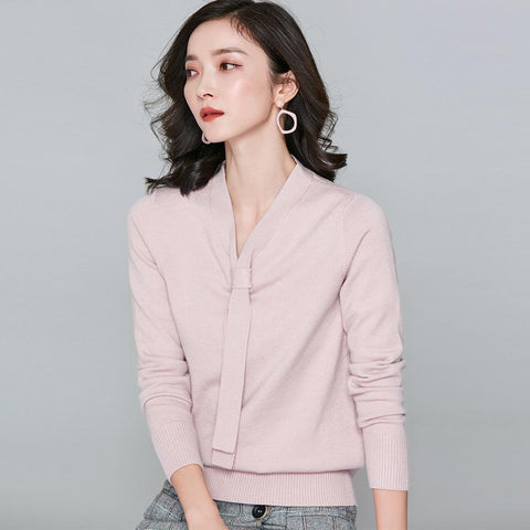 Long Sleeved Sweater Pink