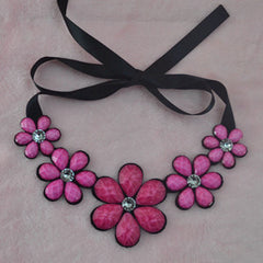 Short Statement Choker Necklace