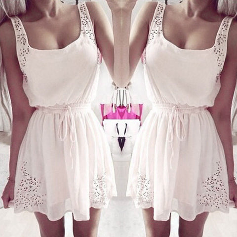 Slim Sleeveless Dress