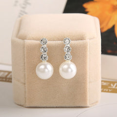 Auger Pearl Earrings