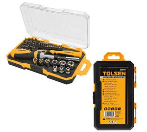 Ratchet & Screwdriver Set 42 pcs from Tolsen - Virtual Plastics Ltd.