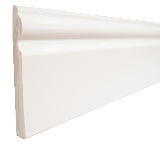 Upvc 95mm Skirting Board - Ogee/Torus Design Architrave Trim