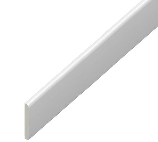 Upvc 45mm - 95mm Skirting Board - Flat Design Architrave Trim
