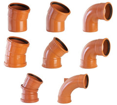Underground Drainage - Joints and Bends