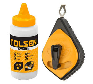 Tolsen Chalk Line Reel Set from Tolsen - Virtual Plastics Ltd.