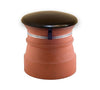 Chimney Cap with Domed Top for Unused Flue - Black from Virtual Plastics Ltd. - Virtual Plastics Ltd.