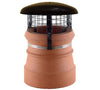 Chimney Cowl with Domed Top & Mesh from Virtual Plastics Ltd. - Virtual Plastics Ltd.