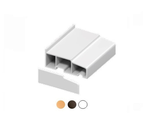 Window and Door Cill End Caps (Pair) Multipack - Various Sizes/Colours from Eurocell - Virtual Plastics Ltd.
