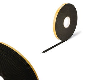 Double Sided Foam Tape - 2mm x 25m - Black from Eurocell - Virtual Plastics Ltd.