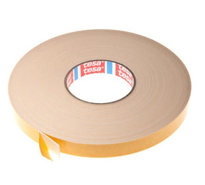 Double Sided Foam Tape - 2mm x 25m - White from Eurocell - Virtual Plastics Ltd.