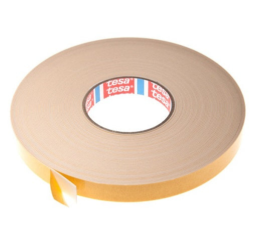 Double Sided Foam Tape - 1mm x 50m - White from Eurocell - Virtual Plastics Ltd.