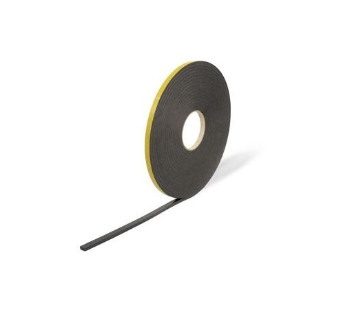 Double Sided Foam Tape - 1mm x 50m - Black from Eurocell - Virtual Plastics Ltd.