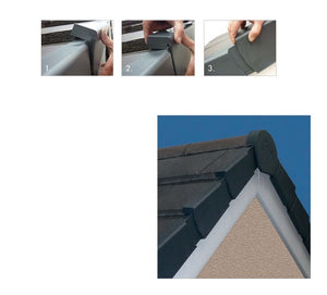 Klober Universal Dry Verge Roof Kit from Klober - Virtual Plastics Ltd.