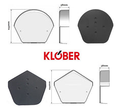 Klober Dry Verge Ridge End Cap