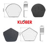 Klober Dry Verge Ridge End Cap from Klober - Virtual Plastics Ltd.