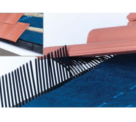 Vented Eaves Protector Support Tray with Comb Protection from Ubbink - Virtual Plastics Ltd.