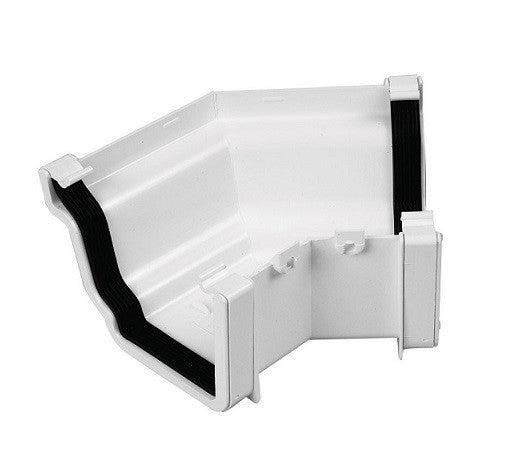 Ogee Conservatory Gutter - White from Marshall-Tufflex - Virtual Plastics Ltd.