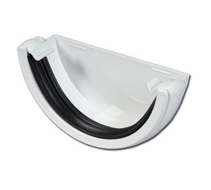 Gutter and Downpipe - White Round from Marshall-Tufflex - Virtual Plastics Ltd.
