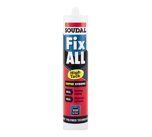 Soudal Fix All High Tack Adhesive - No Nails from Soudal - Virtual Plastics Ltd.