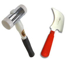 Glazing Kit - Half Moon Glazing Knife and Thor Hammer